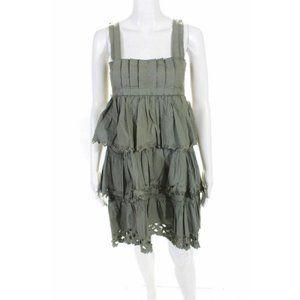 Philosophy di Alberta Ferretti Ruffle Dress